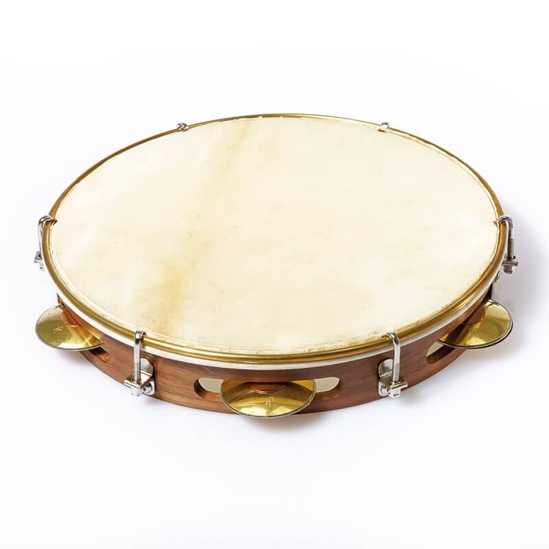 HP Percussion   Pandeiro 10'' - Wicked Walnut A673014
