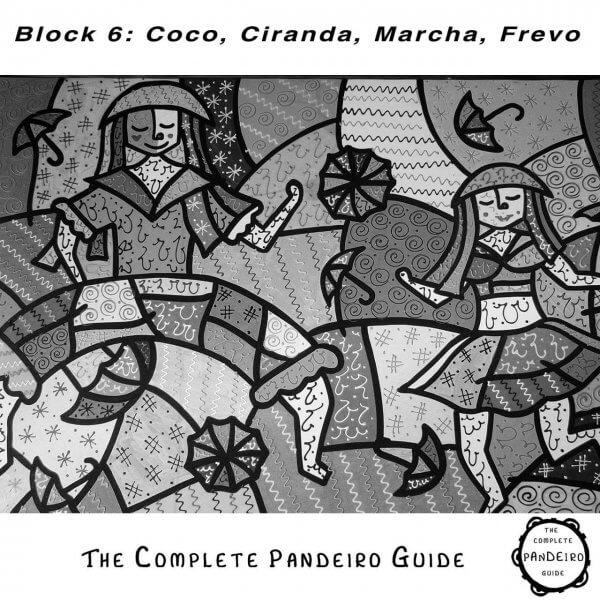 Pandeiro Guide - Coco, Ciranda, Marcha & Frevo HP Percussion A674106
