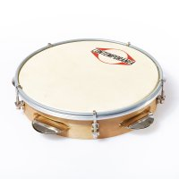 "Pandeiro 8"" wood - goatskin head, 4 jingle sets"
