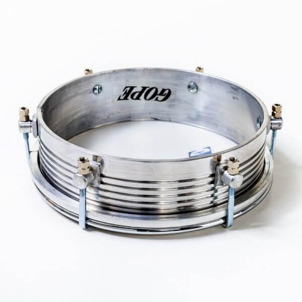 Tamborim 6'' - aluminium frisado Gope A371910