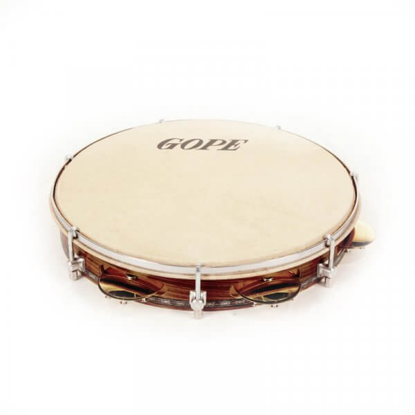 Pandeiro 10'' Choro - cymbals with rivets Gope A371102