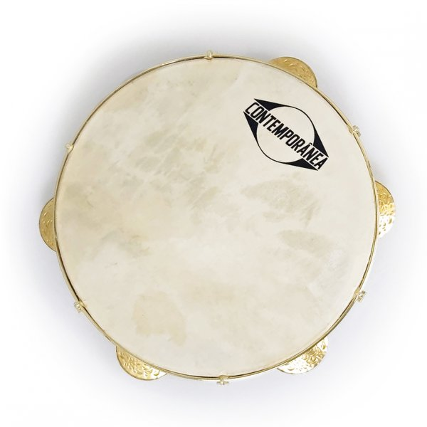"Pandeiro 10"" hide head - Luthier Contemporânea A341512"