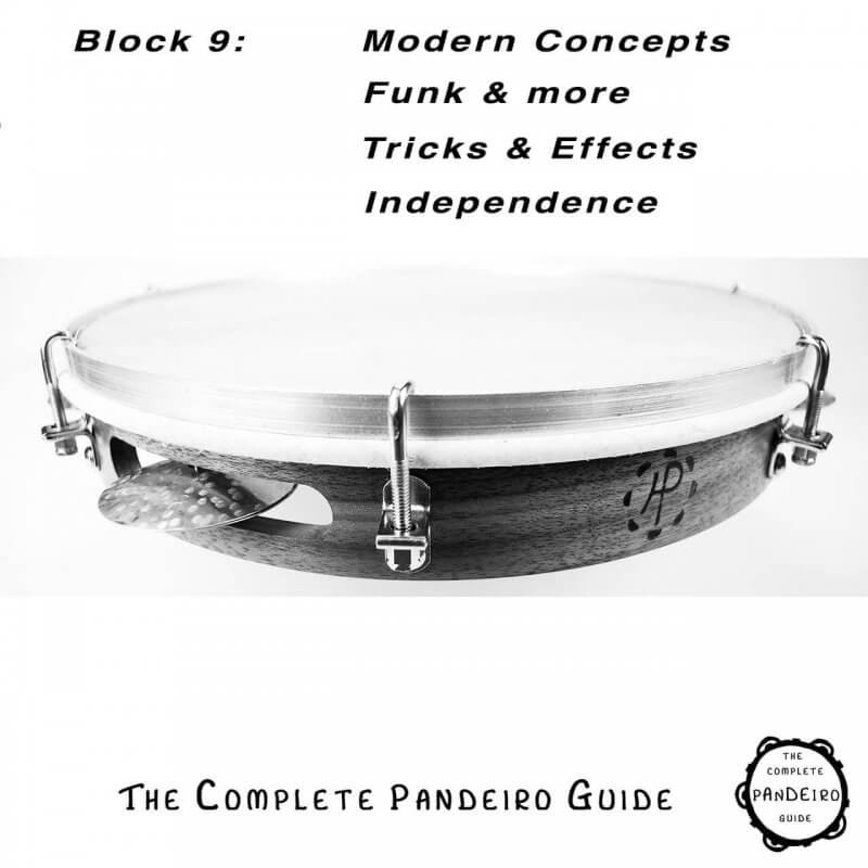HP Percussion   Pandeiro Guide - Modern Concepts, Funk, Effects, Independence A674109
