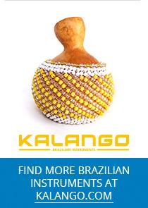 KALANGO brazilian instruments banner ad