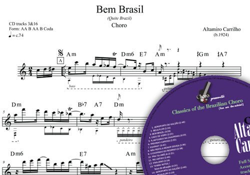 Altamiro Carrilho - 2nd edition ChoroMusic A871828