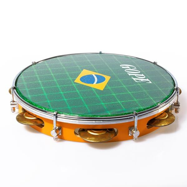 Pandeiro 10'' Brasil DEAL Gope A371109