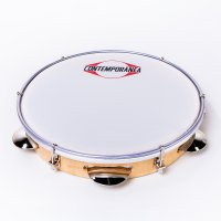 "Pandeiro 10"" wood - nylon head"