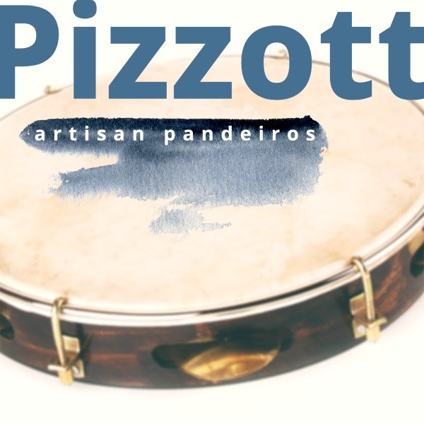"""Pandeiro 10.5"""" Choro - flat rim Pizzott A602017"""