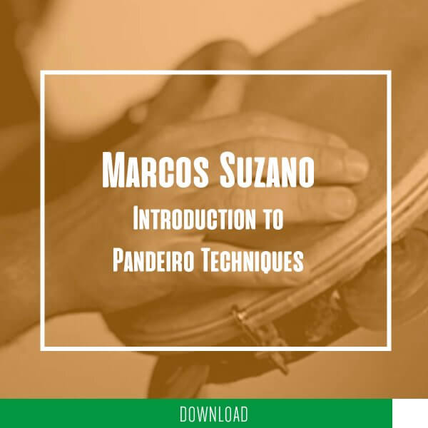 Marcos Suzano - introduction to pandeiro techniques KALANGO A5271DE
