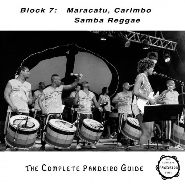 Pandeiro Guide - Maracatu, Carimbo, Samba Reggae HP Percussion A674107