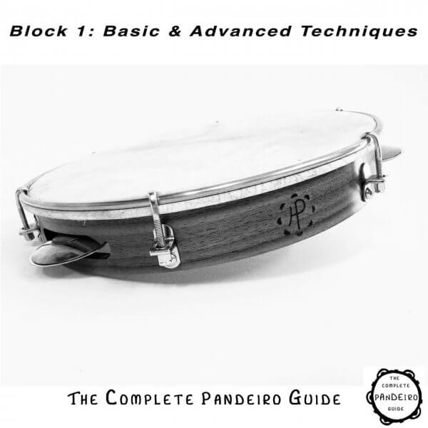 Pandeiro Guide - Basic & Advanced Techniques HP Percussion A674100