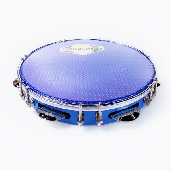 "Pandeiro Samba 10"" - blue Contemporânea A341609"