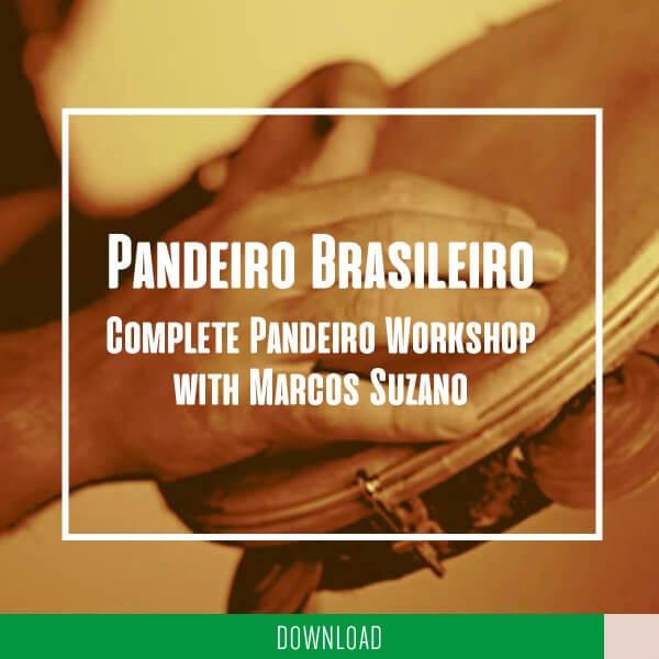 Pandeiro Brasileiro - complete workshop with Marcos Suzano KALANGO A5270DE